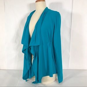 Lucy Open Waterfall Cardigan Athleisure Coverup
